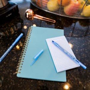 $0.97 (原价$2.9) 1支不到$0.1白菜价:BIC 圆珠笔 10支装,蓝色  凑单小物