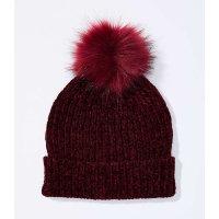 LOFT 球球毛线帽
