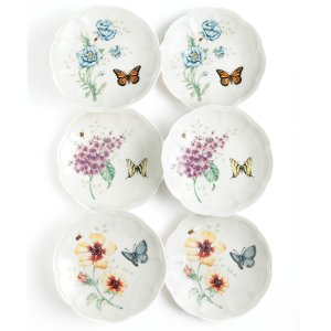 $24.49Lenox Dinnerware, Set of 6 Butterfly Meadow Party Plates