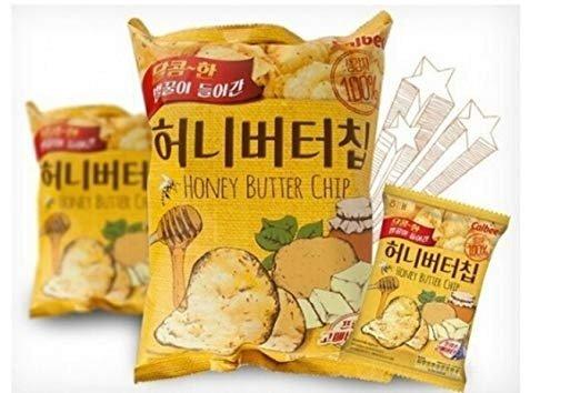 蜂蜜黄油薯片 3袋