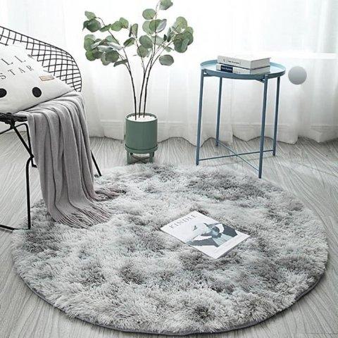 1.5折起 €11.65收INS风地毯Cdiscount 长毛地毯闪促 柔软、舒适的INS家居打造全靠它
