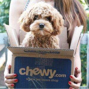 6折+额外9.5折Chewy全场宠物用品热卖 订阅首单立享6折 超好口碑