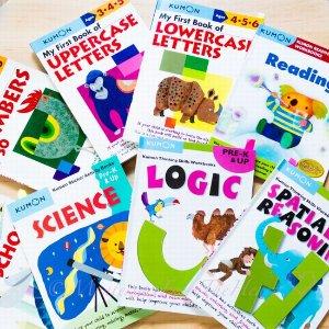 8折起+全场满$100享额外9折Amazon 全场教科书、教材热促 风靡北美Kumon 全系列教育丛书