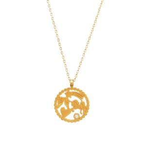 Dogearedyou are everything nice magical icons necklace