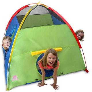 $22.94(原价$45.99)史低价:Kiddey 大尺寸儿童游戏帐篷