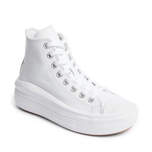 厚底高帮运动鞋