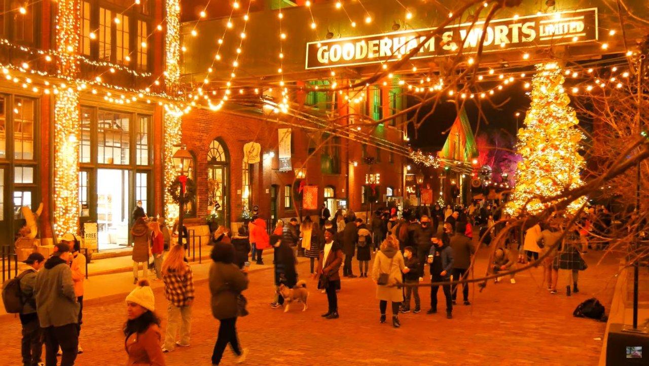 多伦多Distillery District圣诞攻略 | 古酿酒厂今年无门票,店铺可网购!