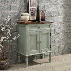 Ariana Seafoam 2-Door Cabinet