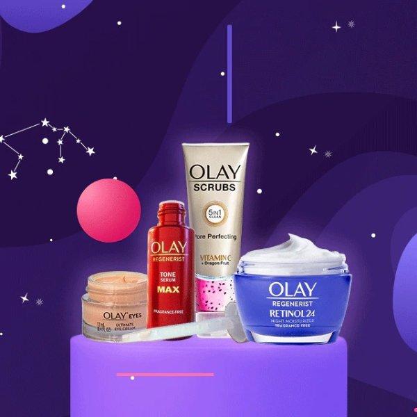 银河发光(视黄醇+vc)护肤套装发