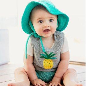 4折起+新用户额外8折Hanna Andersson 婴儿服饰年中大促 有机棉呵护娇嫩肌肤