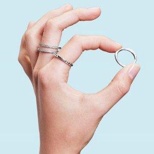 满2赠1Pandora 女王日 精美戒指优惠特卖