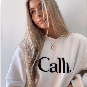 低至4.5折+额外叠6折Calli 澳洲宝藏品牌 美衣限时促 针织短外套$53
