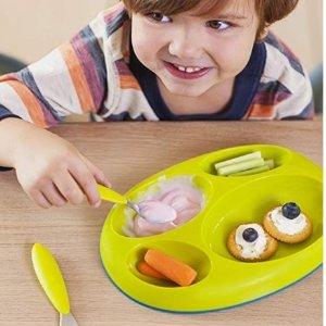 $10.95(原价$17.99)Boon 儿童餐盘3件套装