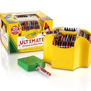 闪购:Crayola 彩色蜡笔高级套装 152种颜色