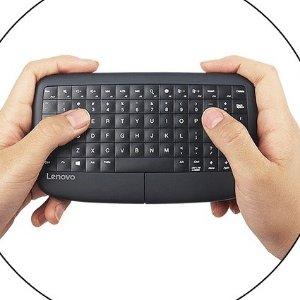 $23.99(原价$79.99)Lenovo 500 无线小键鼠 懒人神器 躺着也能完成工作