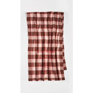 Acne StudiosLogo格纹围巾