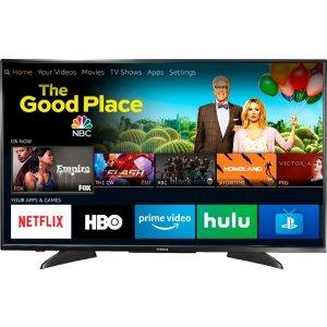 $199.99起限今天:Toshiba 4K HDR Fire TV 智能电视