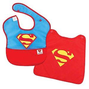 $5.59Bumkins 超人防水婴儿围兜,带斗篷超酷