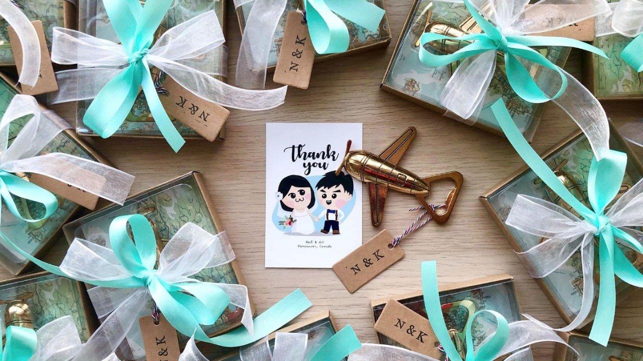 第一次在加拿大结婚就上手(三)DIY婚礼布置篇