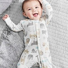 Up to 50% Off +Extra 25% Off $40+Ending Soon: All New Little Baby Basics @ Carter's