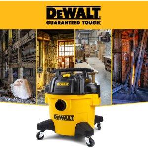 $86.99(原价$134)DEWALT 得伟 DXV06P 6加仑 三合一 扫吹/干式吸尘器
