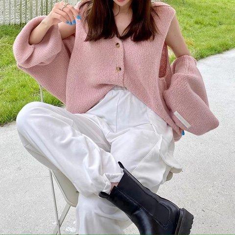 黑五独家:Marvous Wear 感恩节热卖,封面款粉色针织套装$79