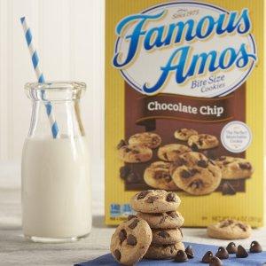 $12.95 一包只需$0.32Famous Amos 巧克力曲奇 1.2oz 40包