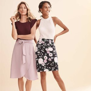 Dealmoon Exclusive: Up to 60% Off +Extra 15% Off Almost Everything @ Ann Taylor Factory