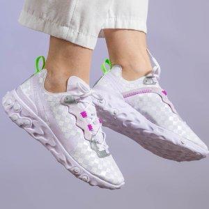 低至7折 $105封面香芋紫react elementNike官网限时特卖 男女运动潮服鞋履 收娜比同款
