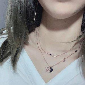 赠品三款任选 价值€92买1送1:Swarovski 买星月项链 送经典天鹅项链 送礼超划算