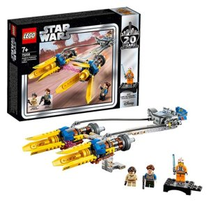 LEGOStarWars 75258 星球大战20周年纪念套装 飞梭赛车 6.3折特价