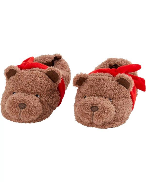 小熊儿童居家鞋