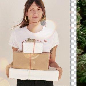 3色选 白菜价$12.18起Levi's 经典小红标短袖特卖 基础百搭女款
