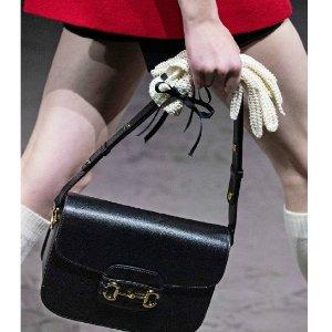 Gucci变相6.9折!官网定价$36901955马衔扣 走秀款