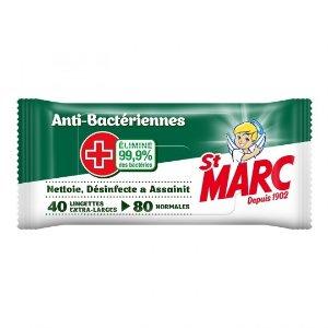 €0.03/张 ST MARC 消毒湿巾 40张
