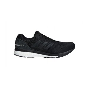 AdidasMen's Adidas Adizero Boston 7 Running Shoe - Color: Core Black/Feather White (Regular Width) - Size: 8.5