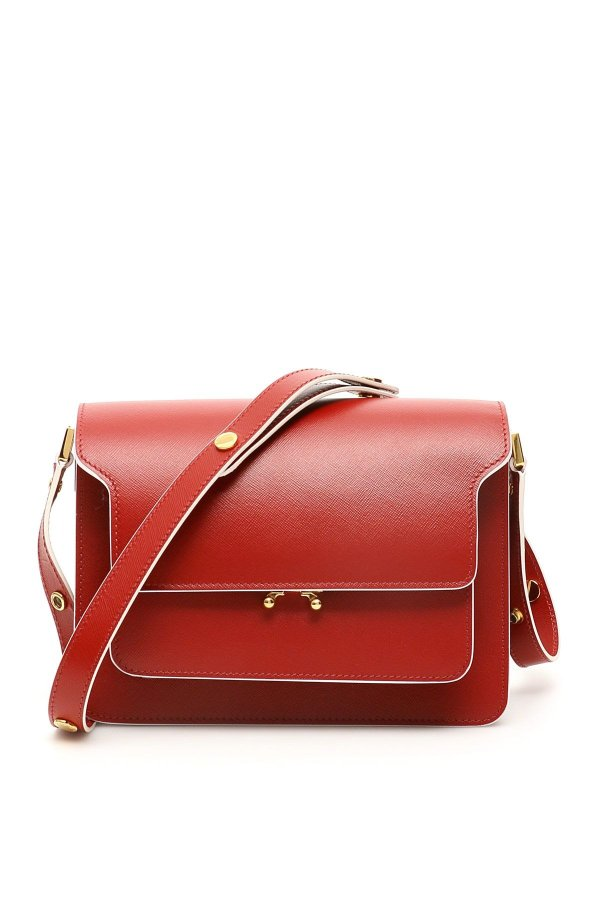 trunk 红色中号风琴包