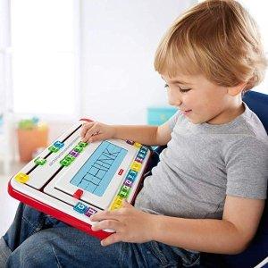 $10.49 (原价$19.99)史低价:Fisher-Price 儿童早教写字板,可擦写
