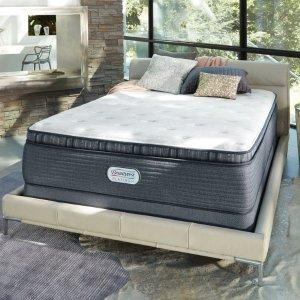 最高立减$1044 $584收爆款硬床垫Simmons 席梦思睡美人白金床垫年中暑期热卖