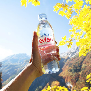 da237b4d21 $23.58 evian Natural Spring Water One Case of 24 Individual 500 ml (16.9 oz.