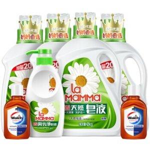 到手 ¥55新春独家:妈妈壹选 去污清洁洗衣组合10.84斤*2