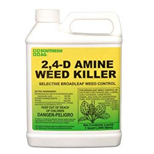 Amazon.com : Southern Ag Amine 24-D Weed Killer, White Bottle : Weed Killer Concentrate : Garden & Outdoor