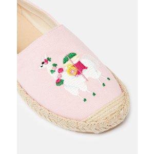 Joules降价儿童羊驼渔夫鞋