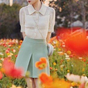 3折起+额外9折 €35收香芋紫针织COS官网春季大促开启 设计感满满的针织开衫 温暖这个春