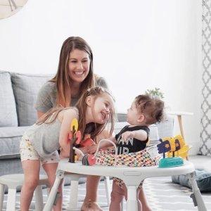 8折独家:Oribel PortaPlay 宝宝多功能健身活动桌 秒变学习桌