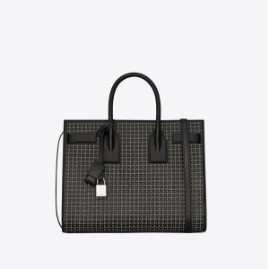 Saint LaurentClassic sac de jour small in leather and studs