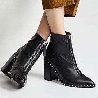 Sol Sana Women's Axel Block Heel Boots@Amazon.com