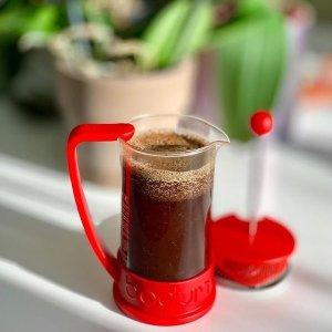 £10收小红壶Bodum 丹麦咖啡壶专家 文艺风法压、滴滤壶闪促
