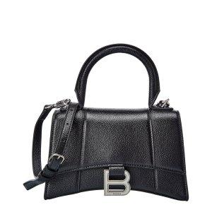 BalenciagaHourglass XS Leather Top Handle Satchel
