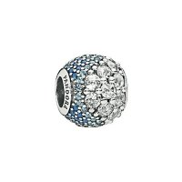 Pandora Blue Enchanted Pave-set 串珠